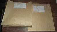 Бумажный пакет 220х200х40 крафт бурый вторичный (упаковка 2500 штук)