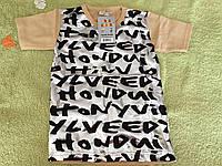 Стильная футболка для девочки с надписями