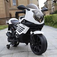 Детский электромотоцикл Moto Sport LQ168 белый