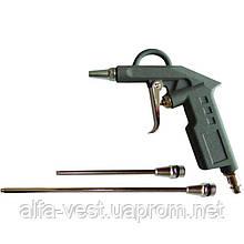 Пистолет продувочный с набором наконечников (26/122/212мм) Sigma (6831031)