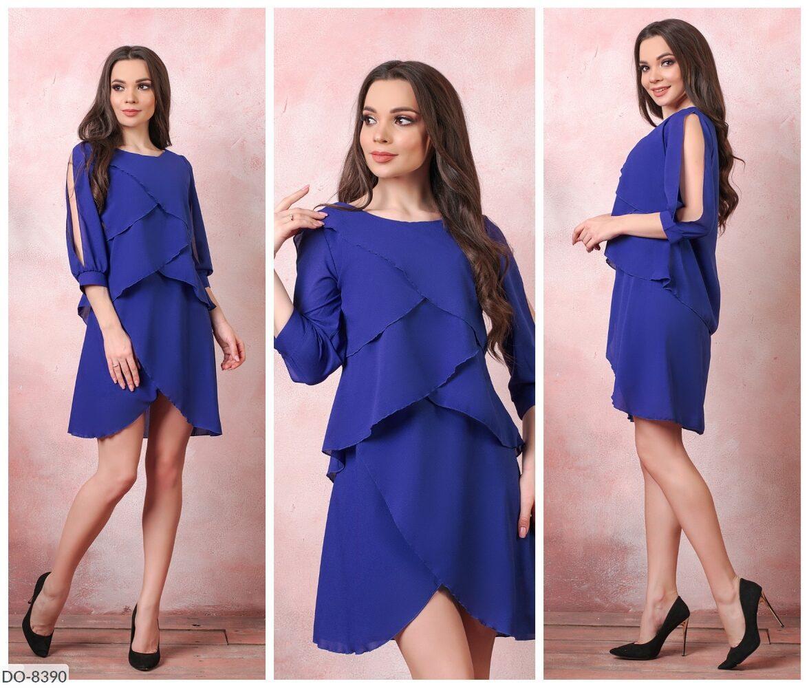 Стильное платье   (размеры 50-52) 0236-68