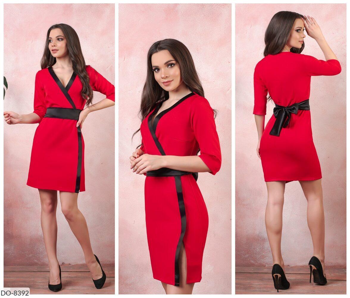 Стильное платье   (размеры 50-52) 0236-69