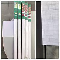 Готовые Рулонные шторы Роллеты Белые 0320