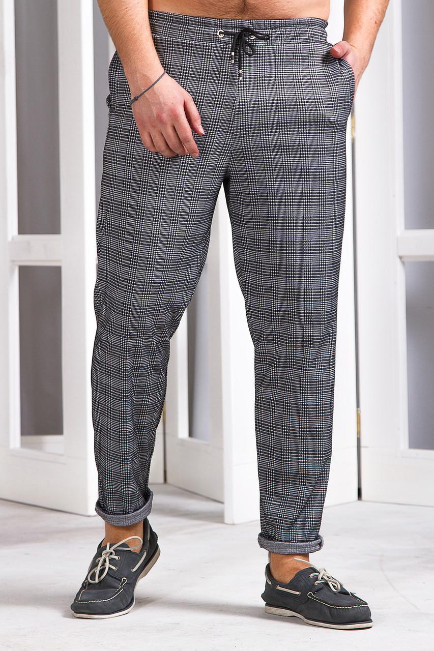 Мужские спортивные штаны 742 серые