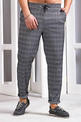 Мужские спортивные штаны 742 серые, фото 2