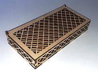 (ЗАГОТОВКА) Купюрница решётка (ШВГ 160х25х80) фанера 4мм., фото 1