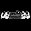 Комплект відеоконтролю (8 відеокамер) GREEN VISION GV-IP-K-L26/08 1080P