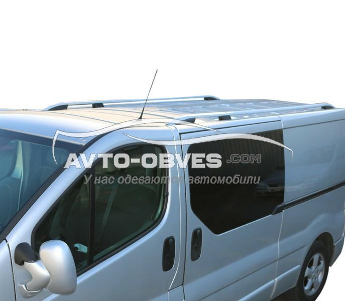 Рейлинги продольные на крышу Nissan Primastar, Crown, турецкие, кор (L1) / длин (L2) базы