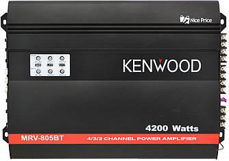 Автомобільний 4-канальний підсилювач звуку Kenwood MRV805BT 4200W Black