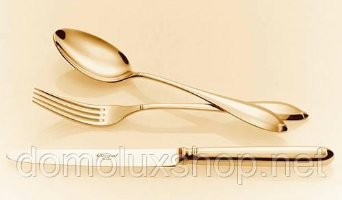 Cutipol Hermitage Gold Набор ложек столовых 6 шт (спак.P11.05GB)