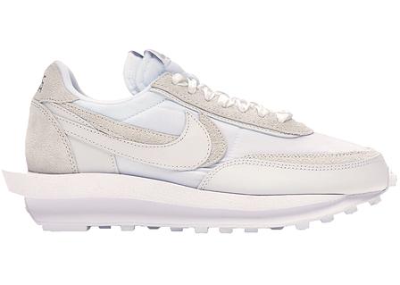 Чоловічі кросівки Nike LD Waffle Sacai White Nylon BV0073-101, фото 2