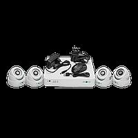 Комплект відеоконтролю (4 відеокамери) GREEN VISION GV-K-G01/04 720Р