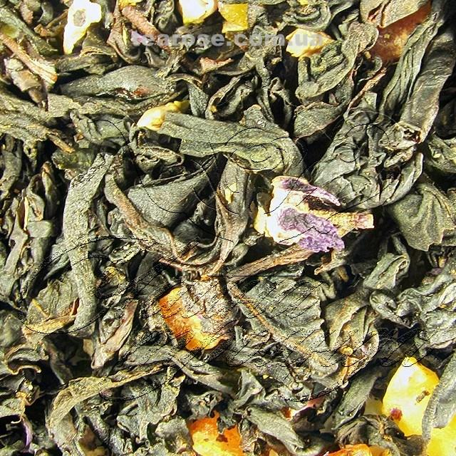 """Чорний ароматизований чай """"Фрукт пристрасті"""""""