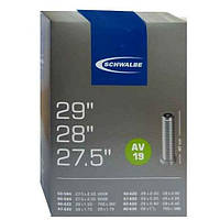 Универсальная Камера Schwalbe для 27.5; 28; 29 Schrader 40мм.