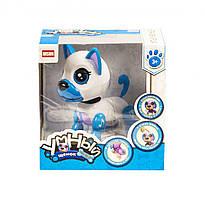 """Інтерактивна іграшка """"Розумне цуценя"""" (біло-блакитний) DISON (E5599-1)"""
