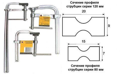 Струбцины (F-образные)