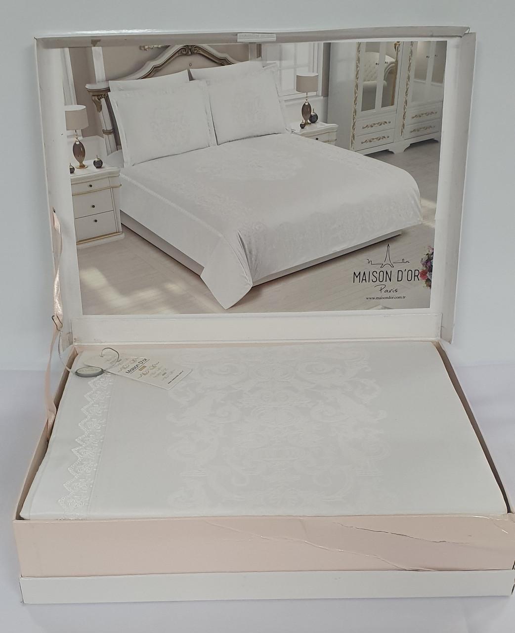 Постільна білизна Maison d'or сатин бамбук сімейний Adrienne White