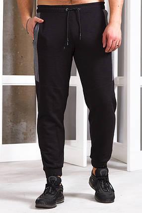 Мужские штаны 747 черный, фото 2