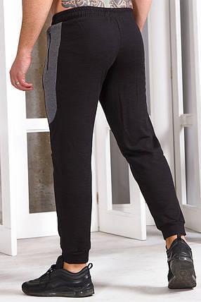Чоловічі штани 747 чорний, фото 2