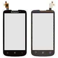 Сенсорный экран (touchscreen) для Lenovo A800, черный, оригинал