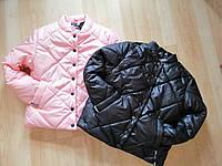 Легкая куртка на девочку 140 - 164 Детская подростковая тонкая демисезонная куртка весна осень