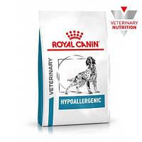 Сухой корм Royal Canin Hypoallergenic при пищевой аллергии у собак, 2 кг