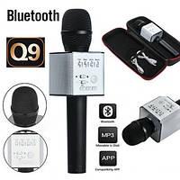 Портативный Караоке микрофон 2 в 1 Q9 Black, фото 1