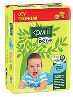 Подгузники Komili Bebe - JUMBO MİDİ (4-9 кг) - 45 шт (Турция) - с Оливковым Маслом - ОРИГИНАЛ