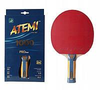 Ракетка для настільного тенісу New Atemi 1000 Pro concave (2020) Original