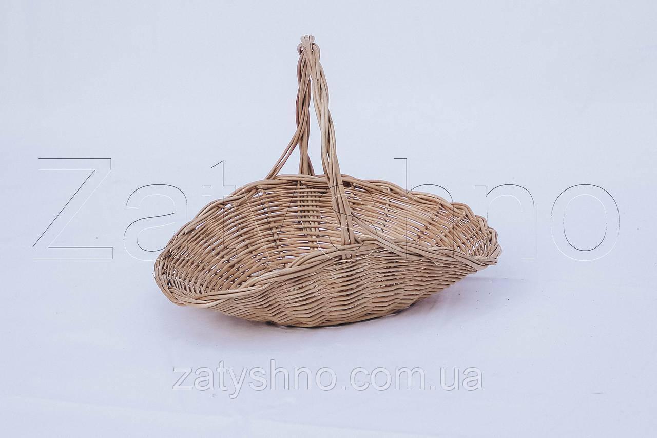 Корзина маленькая из лозы | плетеная корзина из лозы | корзини з лози