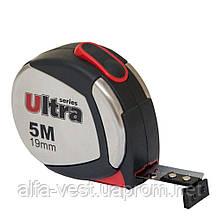 Рулетка магнитная, нейлоновое покрытие 5м×19мм ULTRA (3822052)