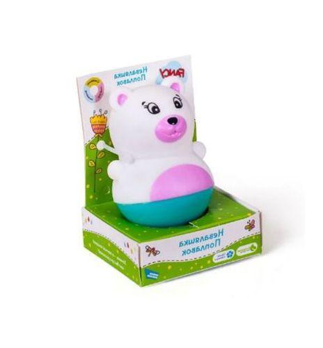 """Игрушка для ванной """"Неваляшка - поплавок. Мишка"""" (NEV02)"""