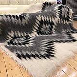 Лижник Карпатский плед из шерсти Натуральные цвета 200х220, фото 4