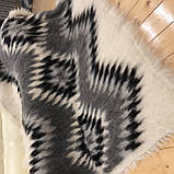 Лижник Карпатский плед из шерсти Натуральные цвета 200х220, фото 5