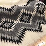 Лижник Карпатский плед из шерсти Натуральные цвета 200х220, фото 3