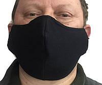 Маска черная на лицо,маска  для рта и носа. Размер БАТАЛ.НА КРУПНОЕ ЛИЦО Маска на лицо Пушка Огонь Токсичный 2