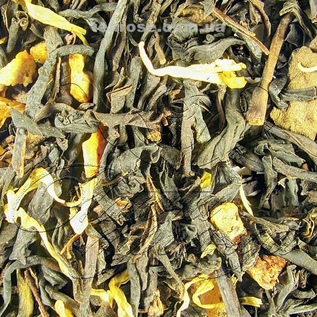 """Чорний ароматизований чай """"Манго-ананас"""""""