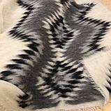 Лижник Карпатский плед из шерсти Натуральные цвета 200х220, фото 2