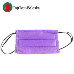 Маска для защиты лица фиолетовая