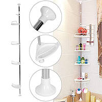 Угловая полка-этажерка для ванной Multi Corner Shelf GY-188