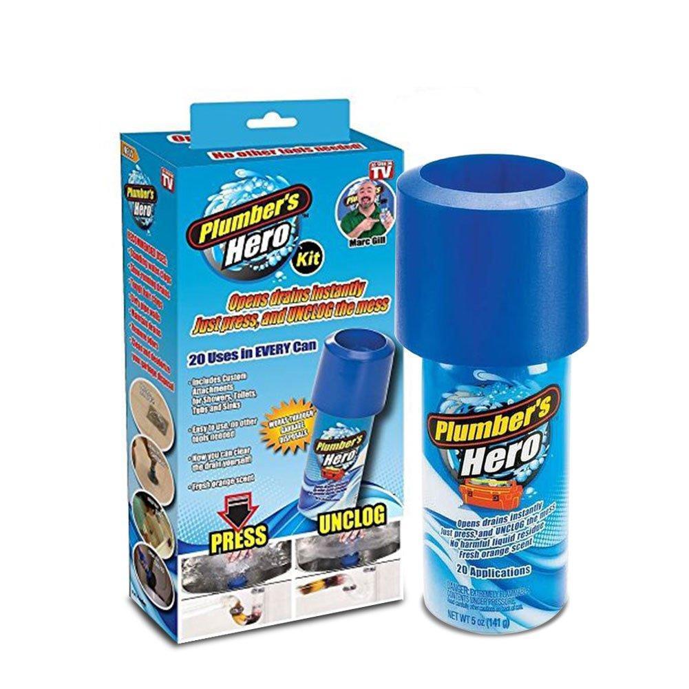 Набор для прочистки унитаза и канализационных труб Plumber's Hero