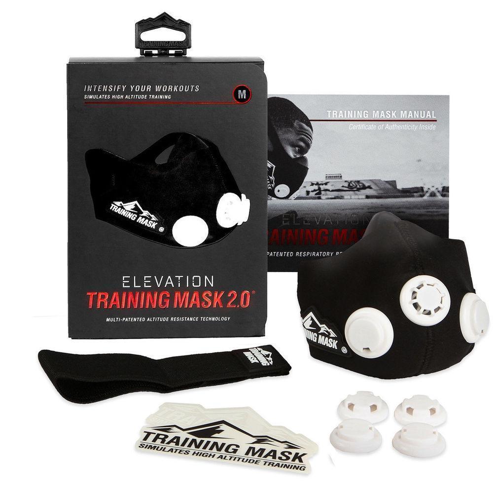 Маска для тренировки дыхания Elevation Training Mask 2.0 размер M