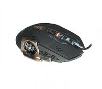 Мышь игровая проводная Keywin X-6 с подсветкой USB Black (4_00242), фото 1