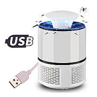 Ловушка USB от комаров и насекомых Mosquito Killer Lamp