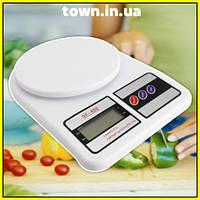Весы кухонные электронные до 7 кг Electronic Kitchen Scale DT-400 | настольные | цифровые, фото 1