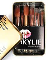 Профессиональный набор кистей для макияжа KYLIE 12 штук