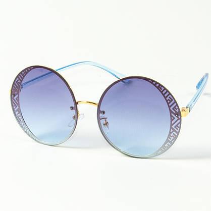 Женские солнцезащитные круглые очки  (арт. 2080664), фото 3
