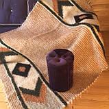 Лижник Карпатский плед из шерсти Яркий свет, фото 2