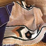 Лижник Карпатский плед из шерсти Яркий свет, фото 6