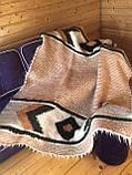 Лижник Карпатский плед из шерсти Яркий свет, фото 4